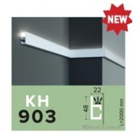 Карниз LED скрытого освещения Grand decor KH 903 (2,00м)