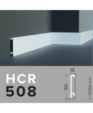 Напольный плинтус гибкий HCR 508 (2,44м) Flex
