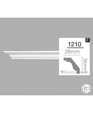 Карниз гибкий 1210 (2,44m) Flex Home decor