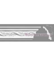 Потолочный багет Homestar Andrea 75x130 мм