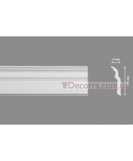 Потолочный багет Homestar D-120 45x115 мм