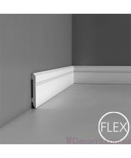 Напольный плинтус гибкий Orac decor Luxxus SX105F