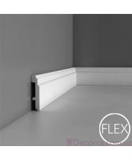 Напольный плинтус гибкий Orac decor Luxxus SX155F