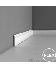 Напольный плинтус гибкий Orac decor Luxxus SX165F