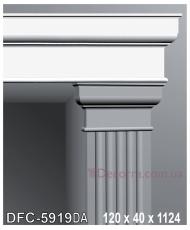Декоративное обрамление для дверей Perimeter DFC 5919DA