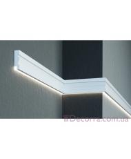 Молдинг для стен фасадный LED скрытого освещения Prestige decor MC 304LED (2.00м)