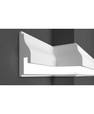 Молдинг для стен фасадный LED скрытого освещения Prestige decor MC 305LED (2.00м)