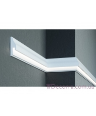 Молдинг для стен фасадный LED скрытого освещения Prestige decor MC 306LED (2.00м)