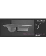 Карниз для фасада КР-002 120x130 мм