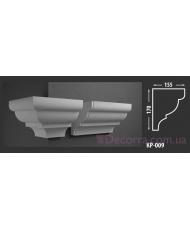 Карниз для фасада КР-009 150x170 мм