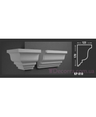 Карниз для фасада КР-010 125x170 мм