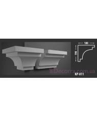 Карниз для фасада КР-011 180x190 мм