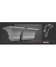 Карниз для фасада КР-014 145x200 мм
