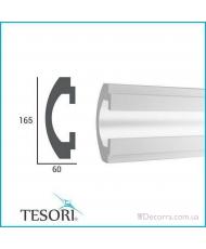 Карниз LED скрытого освещения Tesori KD112