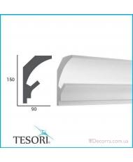 Карниз LED скрытого освещения Tesori KD202