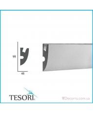 Карниз LED скрытого освещения Tesori KD304