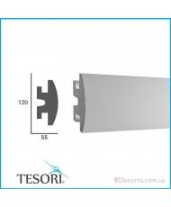 Карниз LED скрытого освещения Tesori KD306