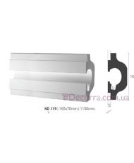 Карниз LED скрытого освещения Tesori KD119
