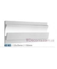 Карниз LED скрытого освещения Tesori KD401