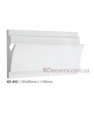 Карниз LED скрытого освещения Tesori KD402