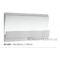 Карниз LED скрытого освещения Tesori KD406
