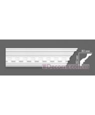 Потолочный багет Villa Deco 17 G 80x80 мм