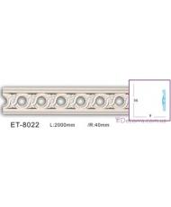 Молдинг для стен фоновые Classic home (Вип-декор) ET8022
