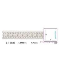Молдинг для стен фоновые Classic home (Вип-декор) ET8026